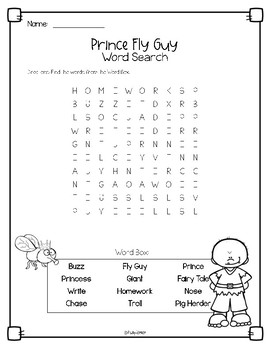 Prince Fly Guy Book Study