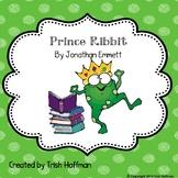 Library Skills:  Prince Ribbit (2018-2019 SSYRA Jr. title)