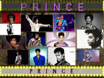 """PRINCE, """"The ArtisT"""": 25 slides w text, hyperlinks, primary sources, & handouts)"""