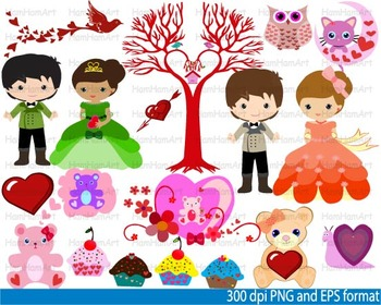 Prince and PRINCESS School costume ball invitation party kid decoration -035-