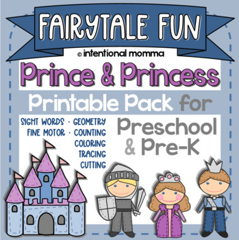 Prince and Princess Pre-K Pack