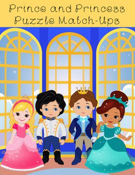 Prince and Princess Puzzle Match-Ups
