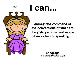 Princess 1st grade English Common core standards posters