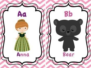Princess ABC Cards