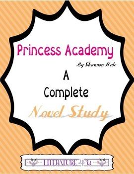 Princess Academy A Novel Study