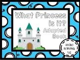 Princess Adapted Book