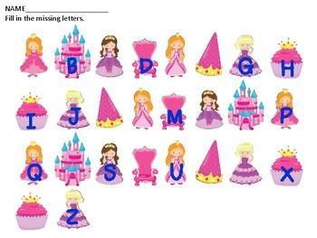 Princess Alphabet