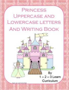 Princess Alphabet Cards and Writing Book