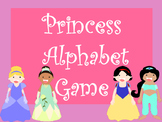 Princess Alphabet Game