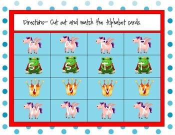 Princess Alphabet Games