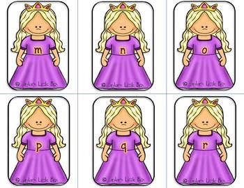 Princess Alphabet game