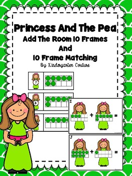 Princess And The Pea Add The Room And 10 Frame Matching