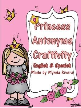 Princess Antonyms (English & Spanish)