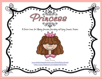 Princess for Following Directions, Describing and Using Se
