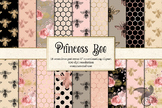 Princess Bee Seamless Digital Paper