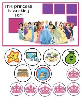 Princess Behavior Chart