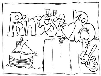 Princess Bride Coloring Pages