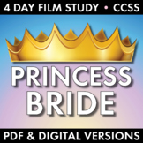 Princess Bride Film Study, Add Rigor to Movie Viewing, Worksheets, Fun! CCSS