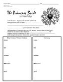 Princess Bride Novel-Late Bloomer Graphic Organizer & Written Analysis