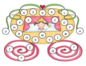 Princess Capital Alphabet Mat