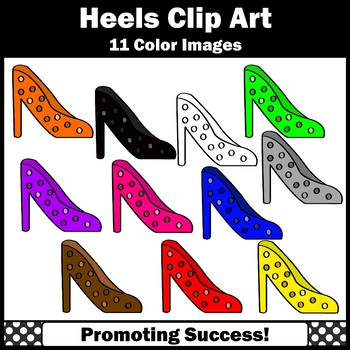 High Heel Shoe Clip Art, Fairy Tale Princess Clipart SPS