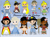 Princess Clip Art Package