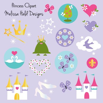 Clipart: Princess Clip Art