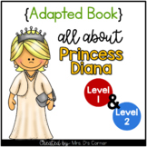 Princess Diana Adapted Book [Set of 2] | Famous Women in History