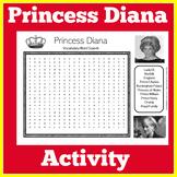 Princess Diana | England | London | Worksheet Activity