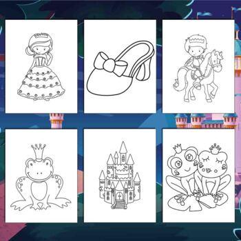 Princess Diaries Fantasy Coloring Pages 84 Printable Coloring Sheets