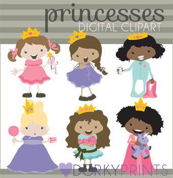 Princess Digital Clip Art
