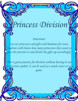 Princess Division Activity