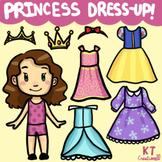 Princess Dress-Up Clip Art