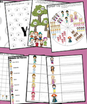 Princess Early Learning Pack (Preschool, Kindergarten, 1st Grade)