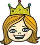 Princess Faces Clip Art