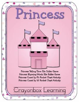 Princess File Folder Games & Activities