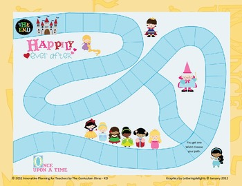 Princess Game Board