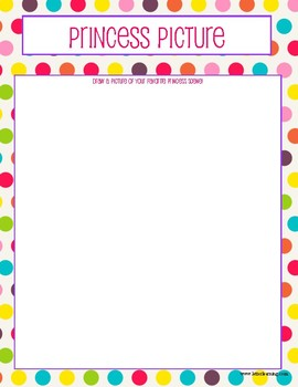 Princess Game Pack, Cute Princess Themed Party Games