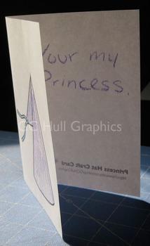 Princess Hat Craft Card PDF