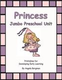 Princess Jumbo Preschool Unit