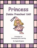 Princess Jumbo Preschool Unit