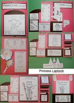 Princess Lapbook