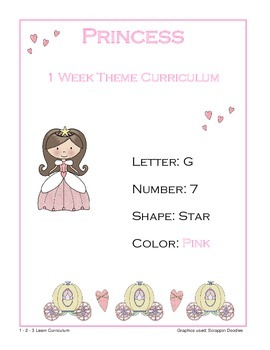 Princess Lesson Plan With ECIPs