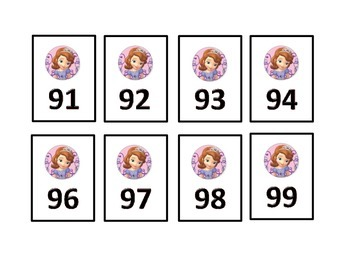 Princess Numbers