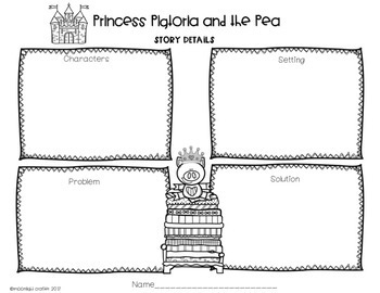 Princess Pigtoria and the Pea Book Companion