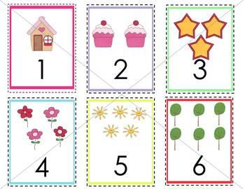 Princess Pink ABC and 123 Flashcards