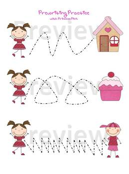 Princess Pink Worksheets Expansion Pack