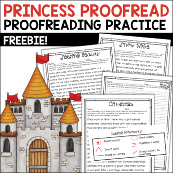 Princess Proofreading Free Activity
