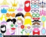 Princess Props Digital Clip Art Personal Commercial Use 26