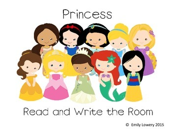 Princess Read and Write the Room
